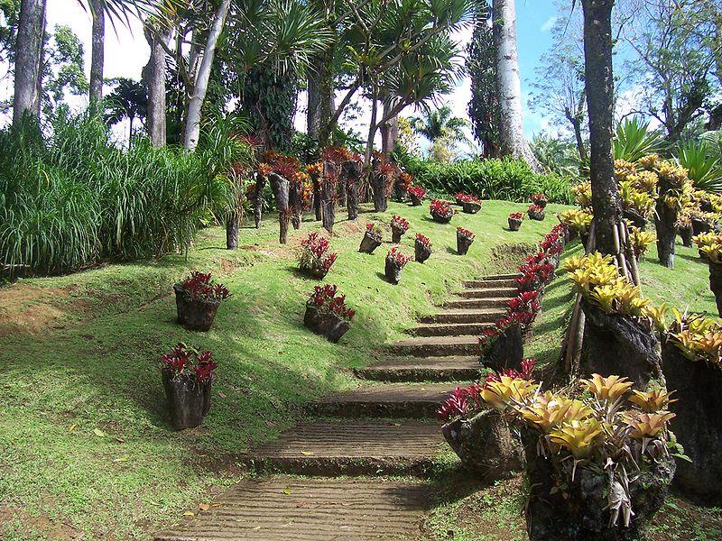 jardin en montagne