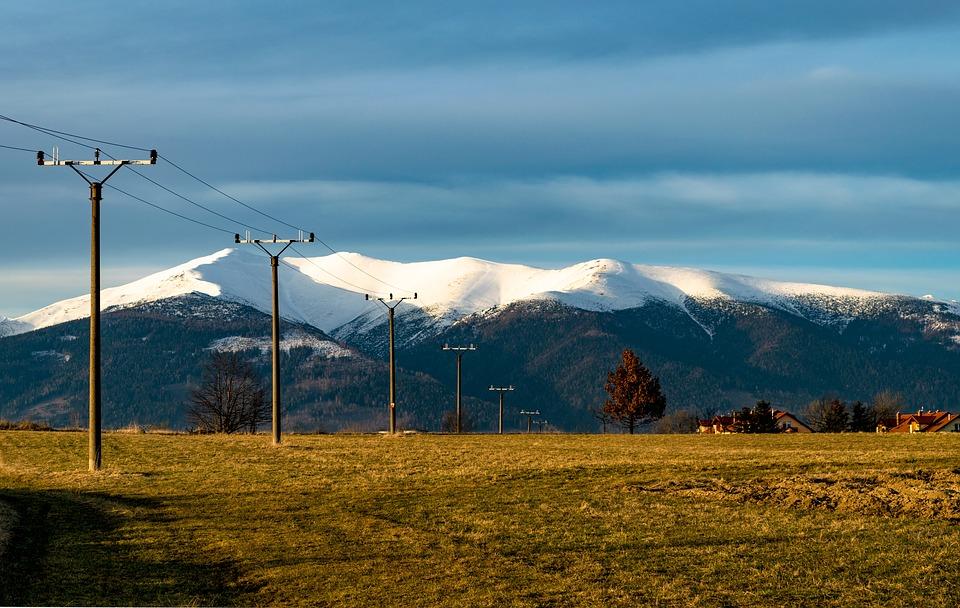 l'électricité en montagne