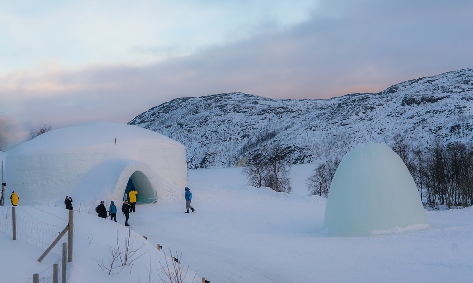 igloo en montagne