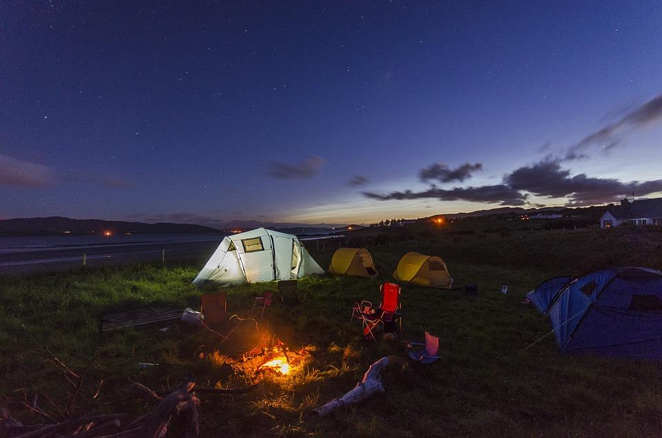 camper en montagne