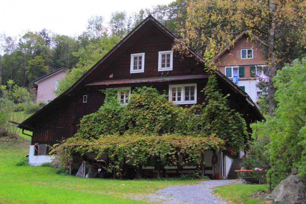 maison en montagne noire