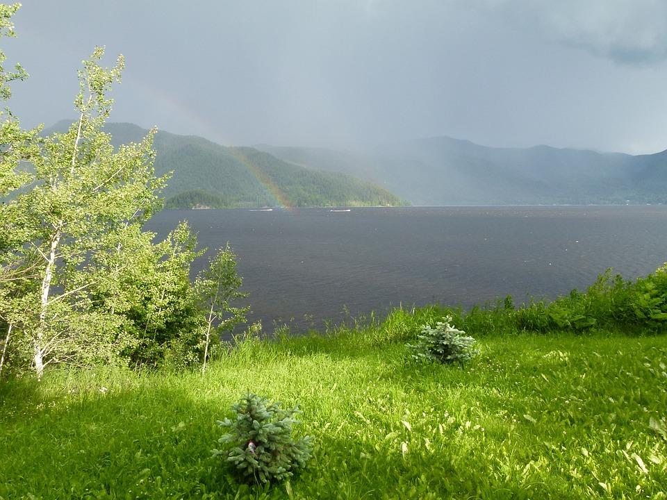 pluie en montagne
