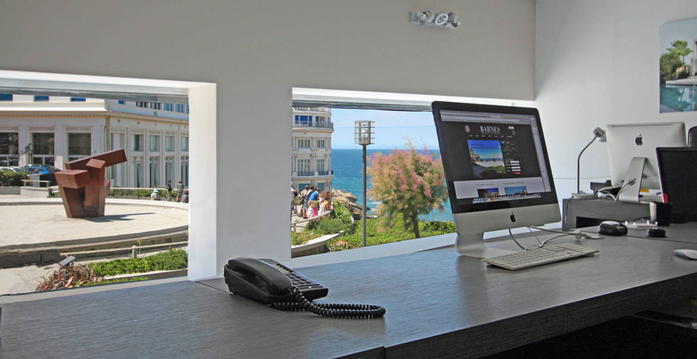 agence immobiliere biarritz